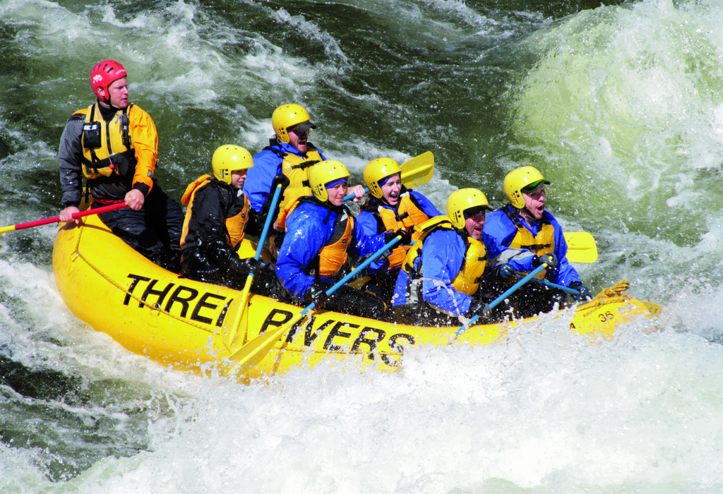 Rafting the Lochsa River